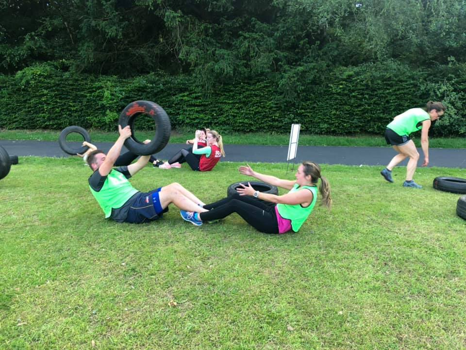 SO FIT IN 8 TYRE EXERCISE