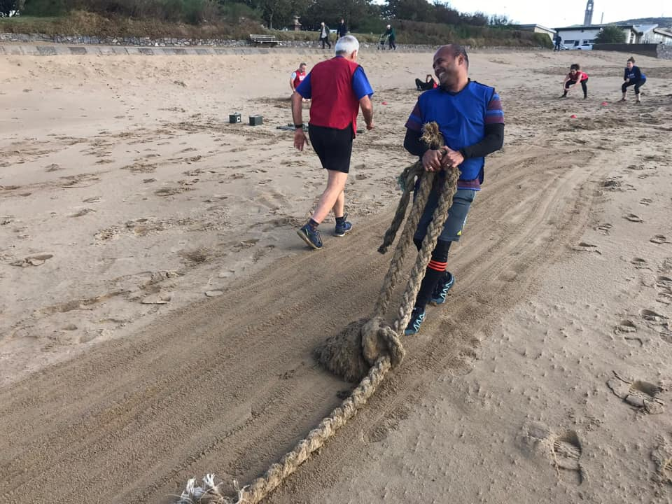 GROUP SESSIONS ROPE PULLING